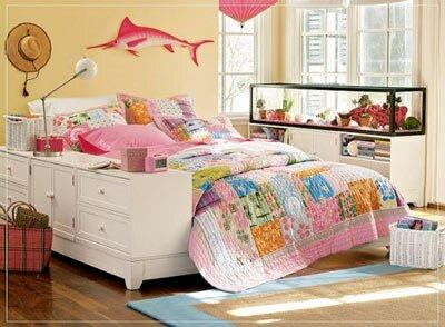 Дизайн спальни для девочки-подростка
