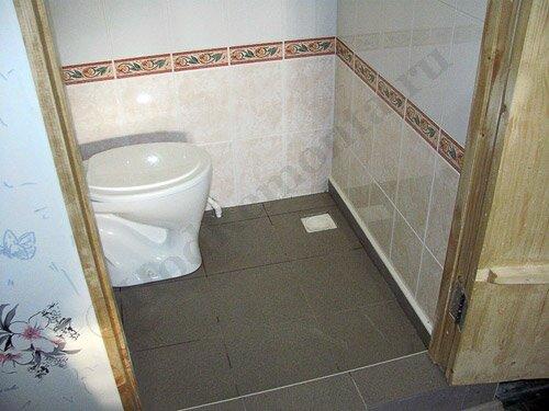 Как сделать теплый туалет в частном доме своими руками 25