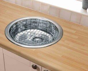 круглая кухонная мойка