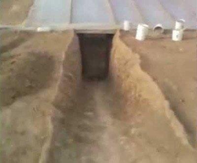 Теплица под землей