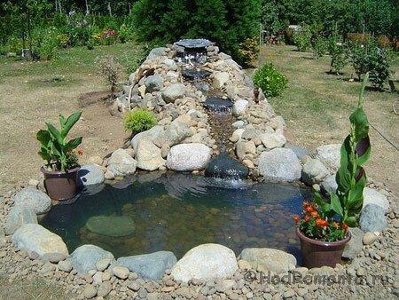 Садовые водоемы своими руками фото